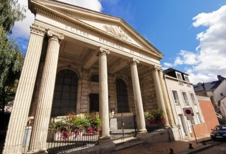 L'Église protestante unie de Côte d'Albâtre-Caux